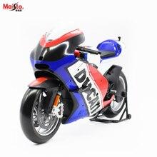 Maisto 1:6 Французский флаг версия Ducati локомотив модель моделирование Сплав мотоцикл орнамент коллекционирования подарки