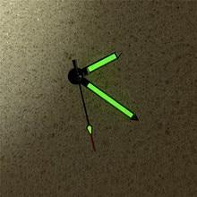 ידי שעון ירוק זוהר שלושה מצביעי מחטי NH35 NH36 שעון תנועת תיקון חלקים