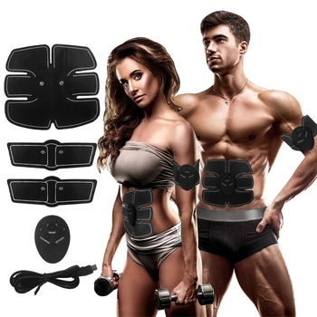 EMS USB Charging Hip Muscle Stimulator Fitness Lifting Buttock Abdominal Trainer Upgrade Body Slimming Massage Dropshipping 1