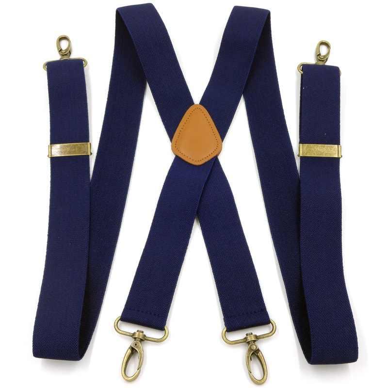 Hommes crochet boucle levage crochet suspendu boucle bretelle Clip Camisole allonger costume pantalon bretelle adulte grande taille E