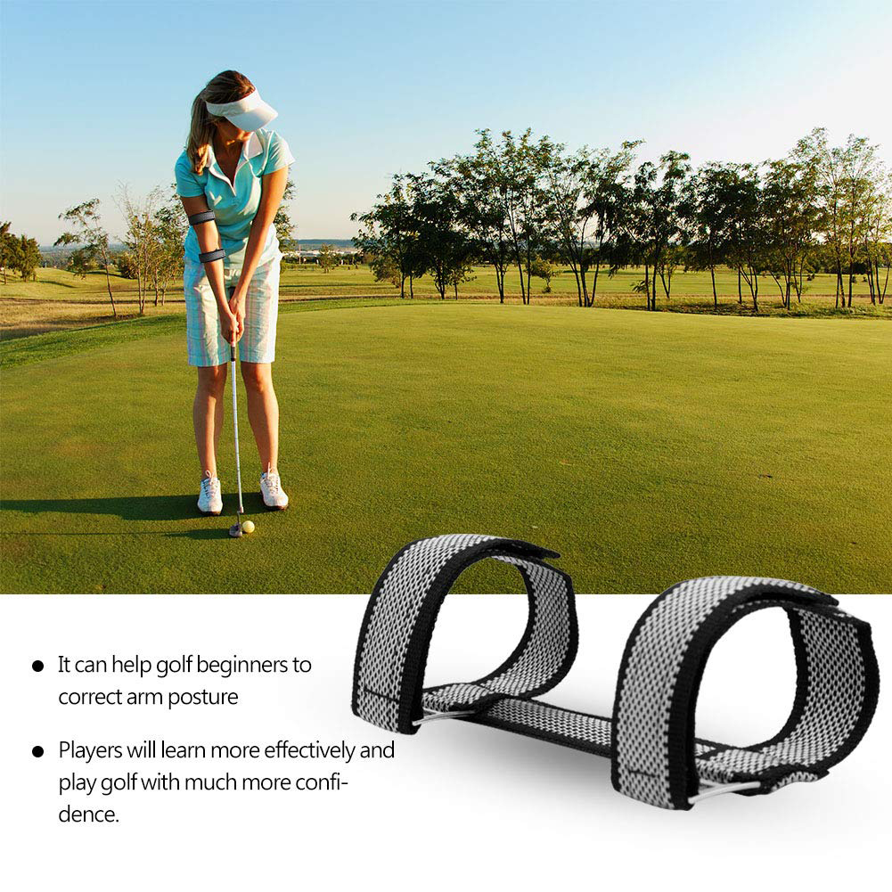 Arm Band Accessories Adjustable Practice Fixing Strap Golf Training For Beginners Equipment Straight Support Hand Elbow Brace