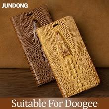 For Doogee X3 X9 X20 X10 X30 X50 X5 Max Mix 2 BL5000 BL7000 BL12000 Pro Case Cowhide Luxury Dragon Head Flip Cover