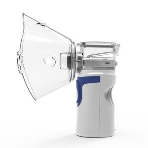 Image 3 - Mini nébuliseur portable pour enfants et adultes avec inhalateur à maille, silencieux, pour la maison