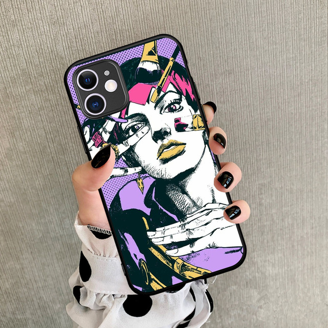 JOJO'S BIZARRE ADVENTURE IPHONE CASE (10 VARIAN)