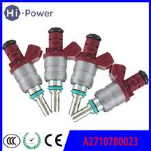 Original  A2710780023 Set 4PCS Fuel Injector Nozzle For Mercedes W203 C180 1.8 Supercharged Fuel Injection