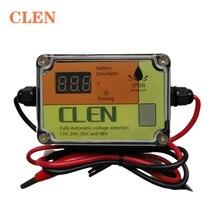 CLEN 2A 200AH Интеллектуальный автоматический импульсный десульфатор батареи для возрождения и регенерации батарей для свинцово кислотных батарей