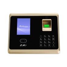 ZK-TA50 двойная HD Двойная камера распознавание отпечаток лица система контроля доступа пароль посещаемость машина