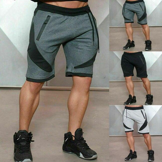 Men's Shorts Cotton Jogging Gym Pants Running Shorts Men's Sports Jogger Shorts