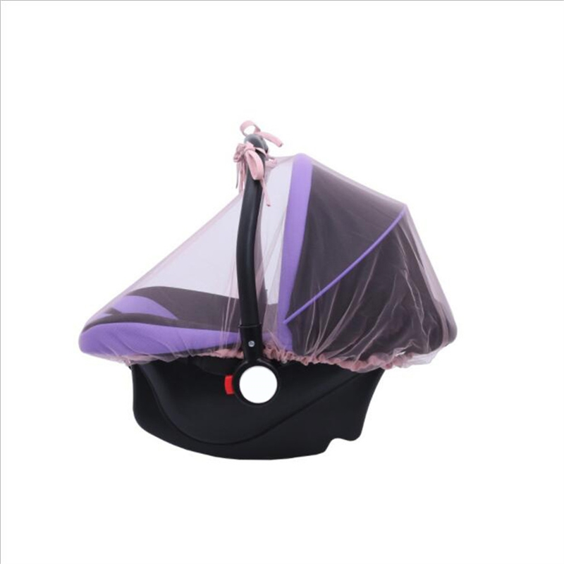 New Baby Seat Mosquito Net 1PC Baby Crib Seat Mosquito Net New Born Curtain Car Seat Insect Netting Canopy Cover