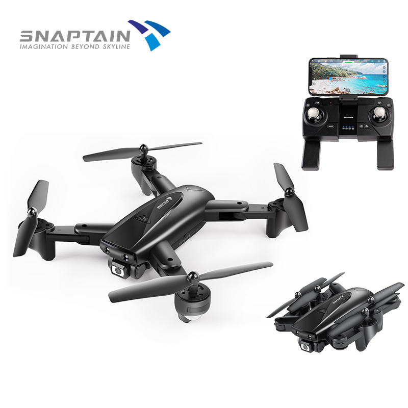 2SNAPTAIN SP500 Foldable FPV Camera Drone RC with 1080P HD Drones RC Quadcopter Smart drone gps Return Auto Hover 5G WiFi Drones