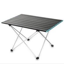 Pícnic al aire libre mesa plegable portátil Super Luz de aleación de aluminio de pesca Camping silla de auto conducción de Picnic barbacoa mesa máx. 25kg