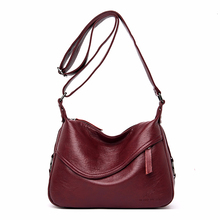 Сумки через плечо для женщин, сумки мессенджеры, женская сумка через плечо из мягкой кожи, роскошные дизайнерские винтажные сумки, женские новые