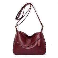 Crossbody Bags For Women Messenger Bags Female Soft Leather Shoulder Bag  Sac A Main Luxury Designer Vintage HandBags Women New