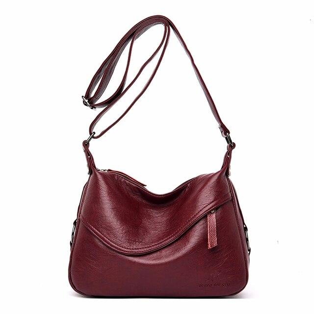 Crossbody torby dla kobiet Messenger torby kobiet miękka skóra torba na ramię Sac główna luksusowe projektant torebki w stylu Vintage kobiety nowy