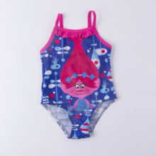 2-5Year Girls swimwear one piece Girls swimsuit Lace Style Children Swimwear High quality Kids Beach wear cheap Monica s Dream COTTON Polyester One Pieces Fits true to size take your normal size 2020020101