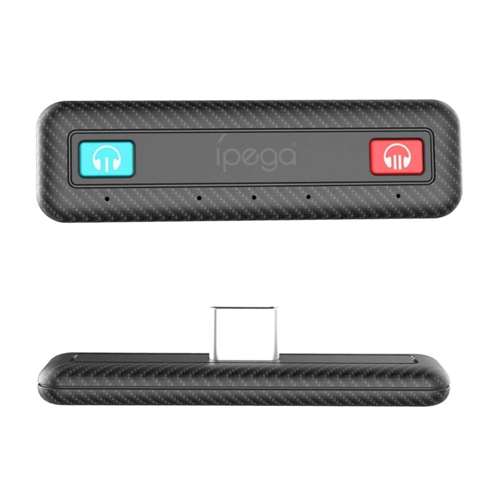 Беспроводной адаптер с двумя Bluetooth 5,0 для NS Switch USB Type-C, с низкой задержкой
