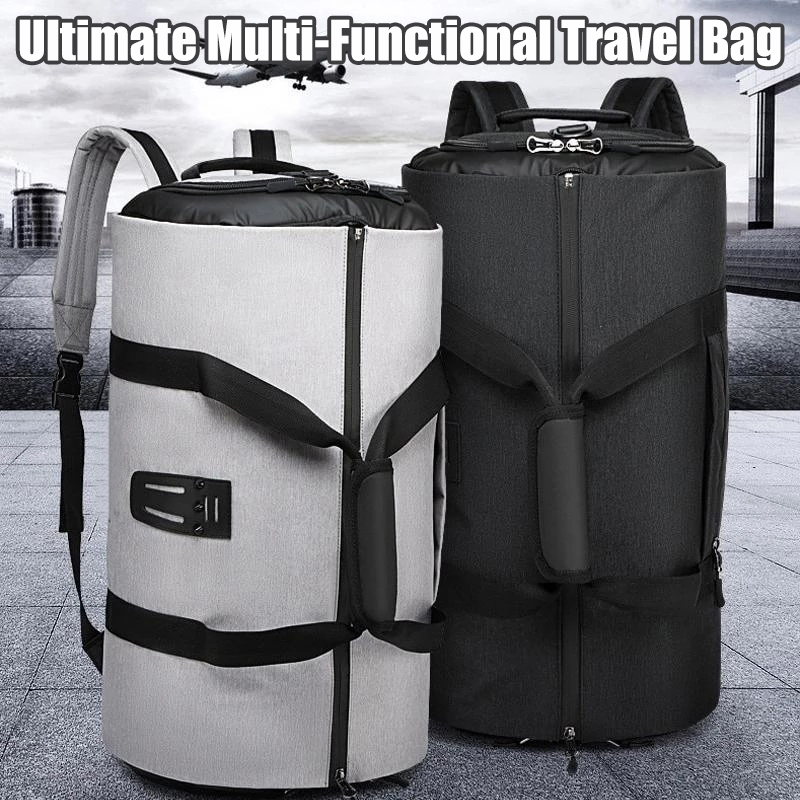 Sac de voyage multifonctionnel pour les voyageurs d'affaires femmes homme résistant à l'eau costume vêtements stockage grand sac J9