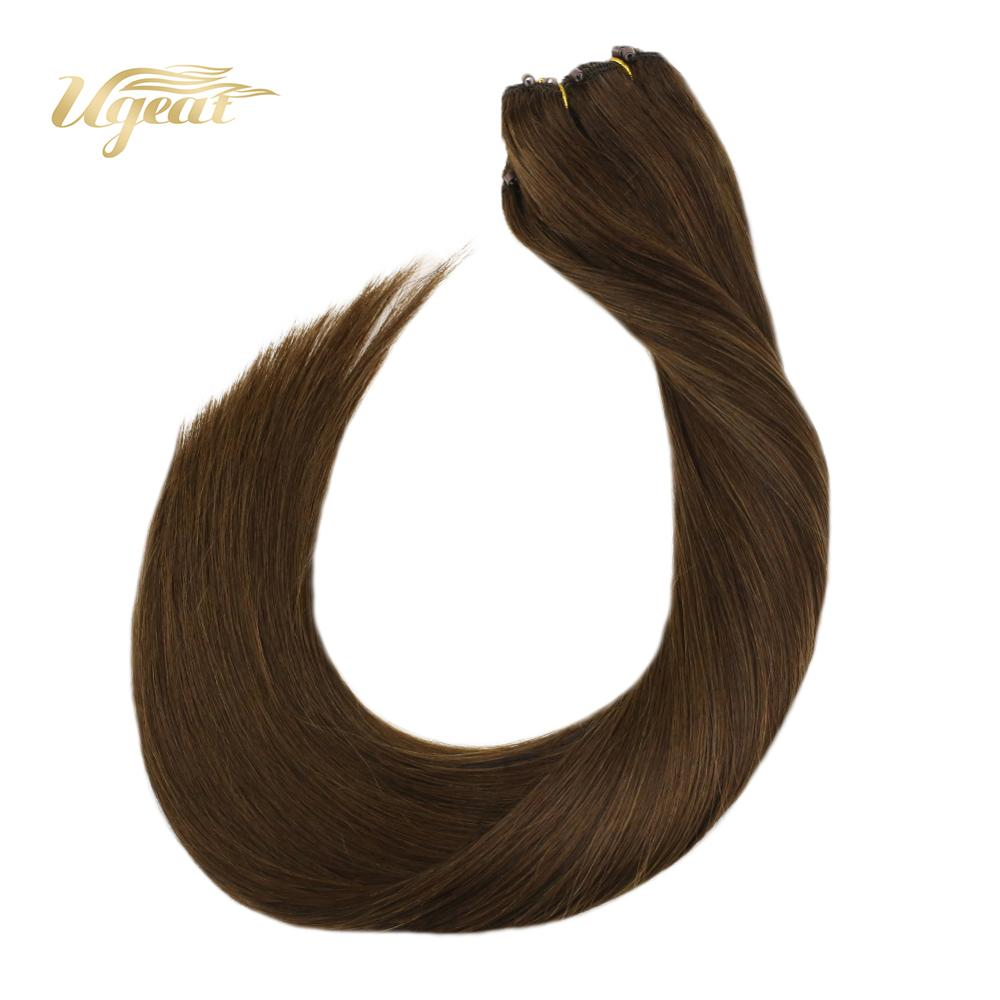 Micro Bead Hair Extensions Human Weft Hair Extensions 14-24