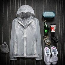 2020 мужчины женщины плащ пешие прогулки путешествия водонепроницаемый ветрозащитный куртка открытый велосипед спорт быстрая сушка дождь пальто солнцезащитный крем унисекс