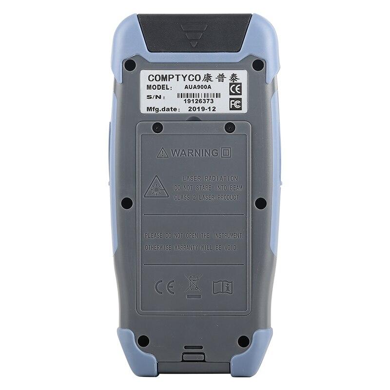 Pro мини волоконно-оптический рефлектометр с 9 функциями VFL OLS OPM карта событий 24dB для 64 км волоконный кабель Ethernet тестер - Цвет: 1310nm 1550nm(APC)