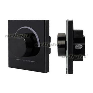 020096 Panel Rotary SR-2202-IN Black (12-24 V, DMX DIM) Box-1 Pcs ARLIGHT-Управление Light/Lot DMX512/~ 81