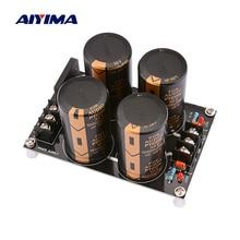 AIYIMA выпрямителя фильтр Питание доска с алюминиевой крышкой, 50В 10000 мкФ усилитель, выпрямитель переменного тока в постоянный Питание DIY LM3886 TDA7293 усилители