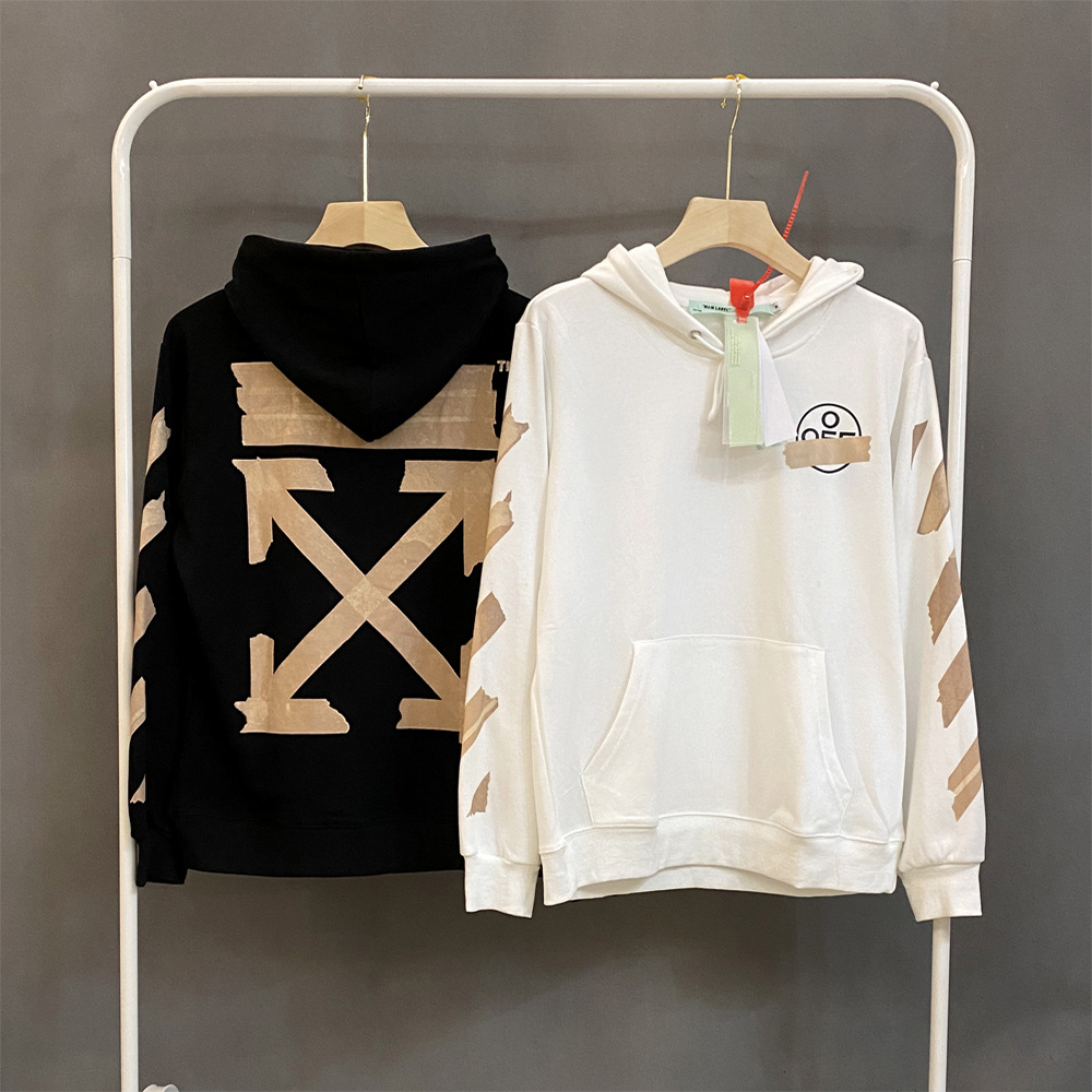 2020 new adult couple models spring and autumn fashion pure cotton casual hoodie sweatshirt hooded loose HOODIE bronzing stripes