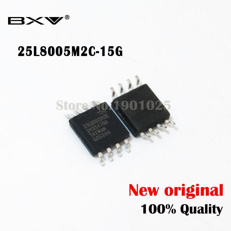 10pcs MX25L8005M2C-15G 25L8005M2C-15G MX25L8005M MX25L8005 25L8005M2C SOP-8 New Original