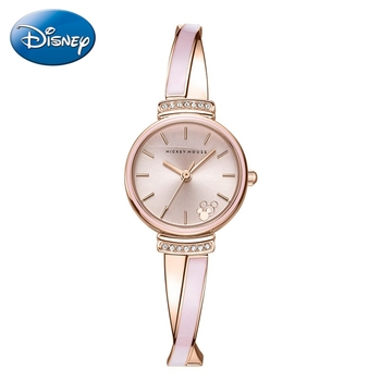 2020 New Fashion Simple Ladies Bracelet Watch For Girl Beautiful Rose Gold Silver Wristwatch Woman Steel Clock Luxury Rhinestone