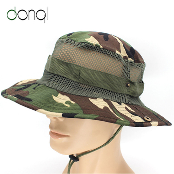 DONQL Camouflage Cap Outdoor Sport Hiking Visor Hat UV Protection Face Cover Fishing Sun Protect Cap Fishing Hat new outdoor sports hat men camping hiking fishing hat man sun cap camouflage breathable
