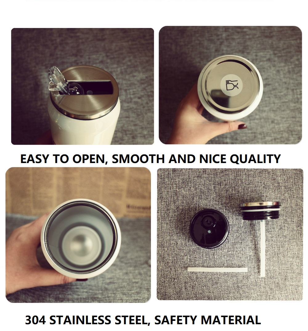 Strawberry Milk Stainless Steel Bottle 4
