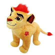 El León Guard Kion animales de peluche para niños, peluches de 35cm y 14