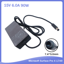 100% new Original OEM AC Power Supply Adapter Charger For Microsoft Surface Pro 4 Docking Station 1661 1749 15V 6A 90W 7.4*5.0MM