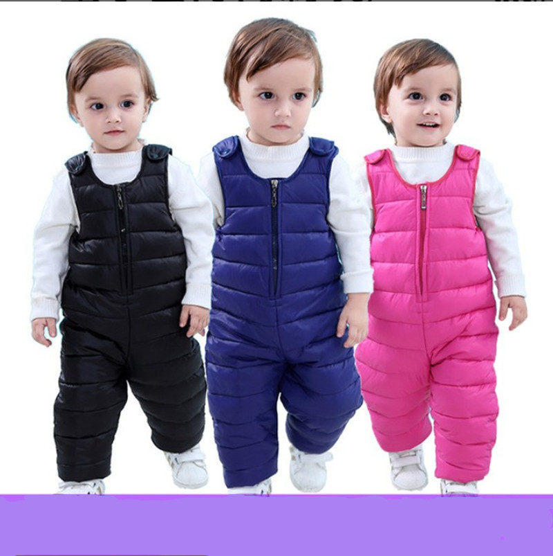 Overalls Waterproof Boys Pantskids Girls Baby Children for Trousers Outwear