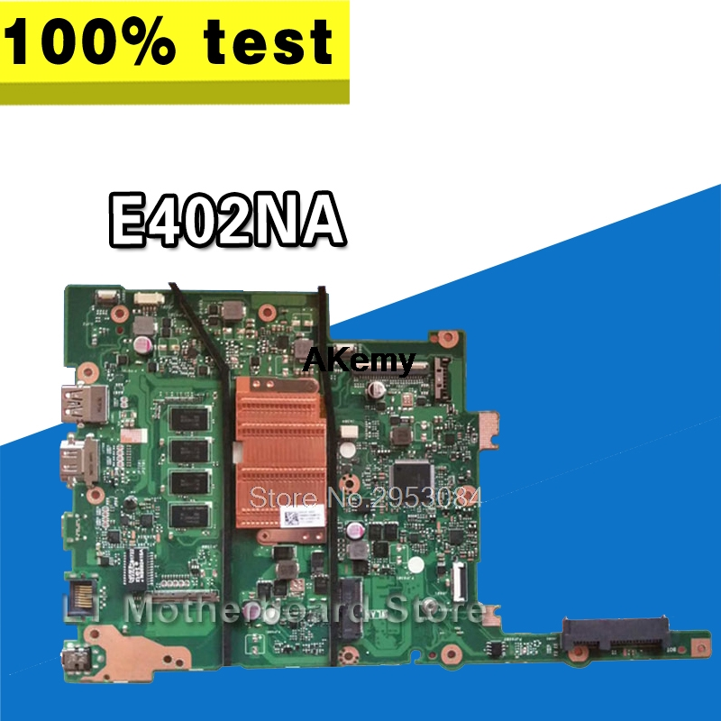 E402NA MAIN_BD.2G/N3350U/AS Mainboard For ASUS E402NA Laptop Motherboard  E402NA Motherboard 100% Tested OK
