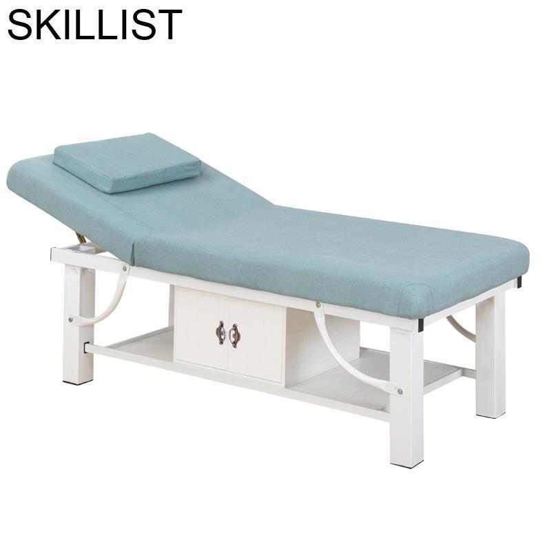 Cama Beauty Furniture De Lettino Massaggio Tattoo Tafel Mueble Salon Chair Camilla Masaje Plegable Table Folding Massage Bed
