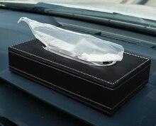 Car Paper Tissue Box holder for Car Tissue Leather Car Tissue Holder Armrest Tissue Box Holder Paper Towel Car Napkin Holder cute nordic bear tissue box roll paper storage box round shaped tissue box container dispenser towel napkin tissue holder