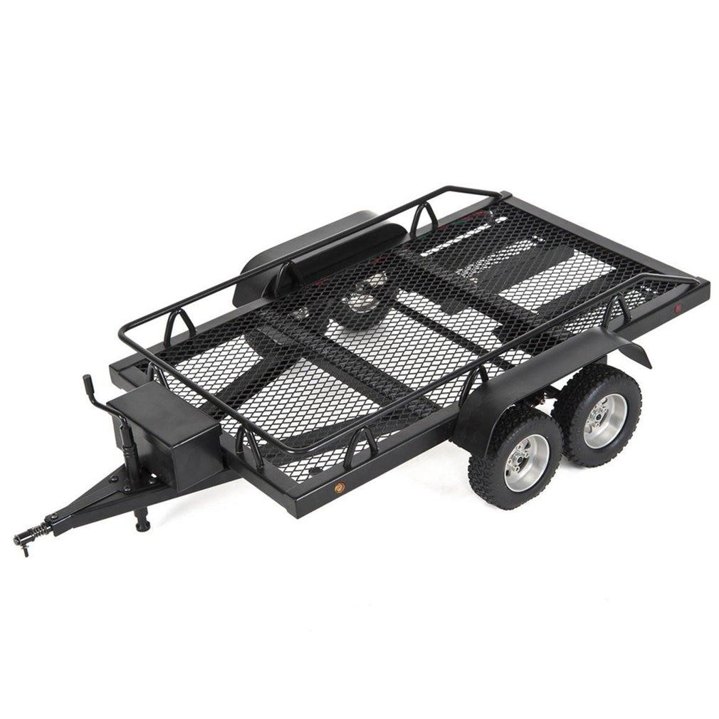 1:10 Heavy Duty Truck RC Cars Trailer Crawler Truck For RC Rock Crawler Truck Traxxas Trx4 Axial Scx10 90046 90047 CC01 D90