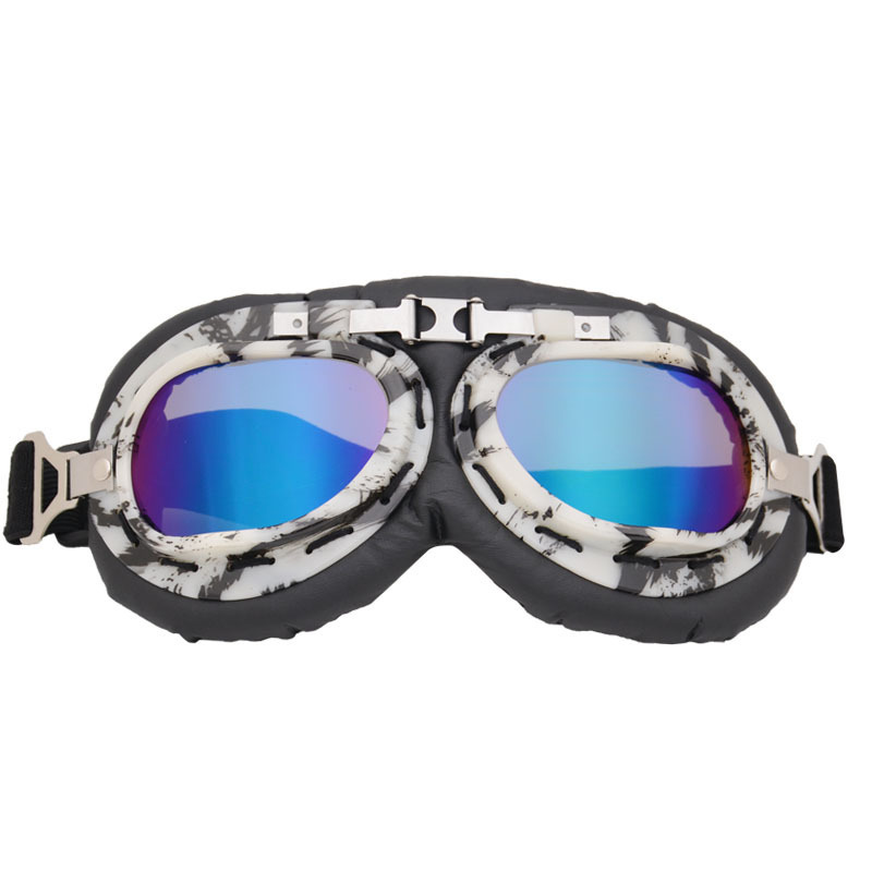 New Style Retro Harley Goggles Off-road Bicycle Glass Motorcycle Goggles Mountain Climbing Glasses For Riding Dustproof Sand