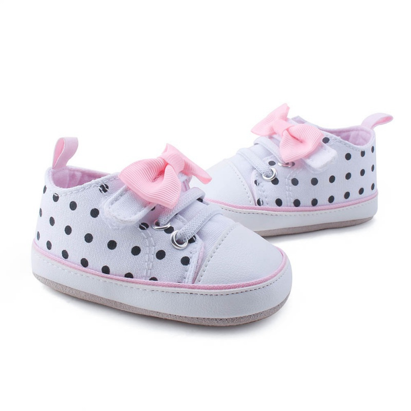 Baby Shoes Baby Girl Shoes Soft Bottoms Soft And Comfortable Non-slip Shoes Fashion Bow Shoes Cradle 2019 0-18M