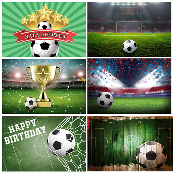 Dark Hardwood Soccer Football Filed Baby Party Portrait Grunge Photo Backdrops Photography Backgrounds Photocall Photo Studio balloons birthday party ribbons family shoot poster baby portrait photo backgrounds photography backdrops photocall photo studio