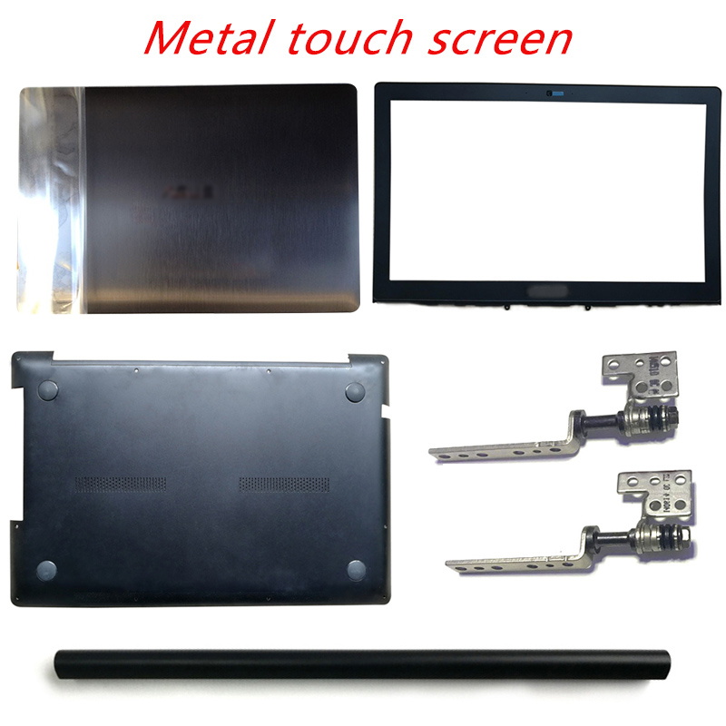 Laptop LCD Back Cover/Front Bezel/LCD Hinges/Hinges Cover/Palmrest/Bottom Case For ASUS N550 N550LF N550J N550JA N550JV