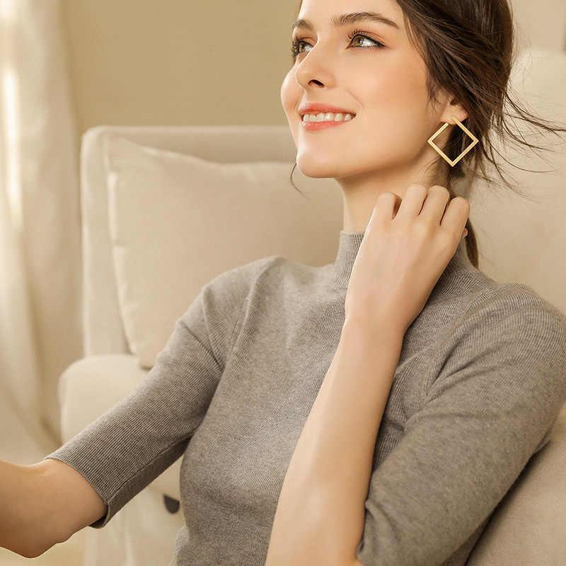 Di alta qualità di cashmere pullover lavorato a maglia Mezza manica Dolcevita skinny Solido del cachemire maglione di cachemire donne simplee abbigliamento S-XXL