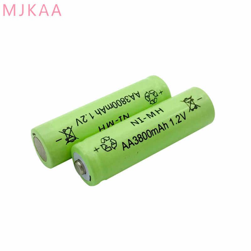 20 Uds./AA NI MH - 3800 Mah 2 A 1,2 V batería recargable es adecuado para la Cámara 14mm * 50mm
