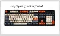 탄소 pbt keycaps 기계식 키보드 용 백라이트 키 캡 108 키 백라이트 투명