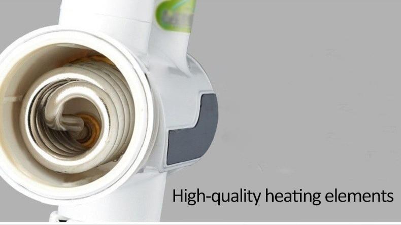 3000 Вт Мгновенный водонагреватель кран с дисплеем температуры водонагреватель Электрический водонагреватель кухонный кран проточный нагреватель кран нагреватель проточный водонагреватель смеситель для кухни