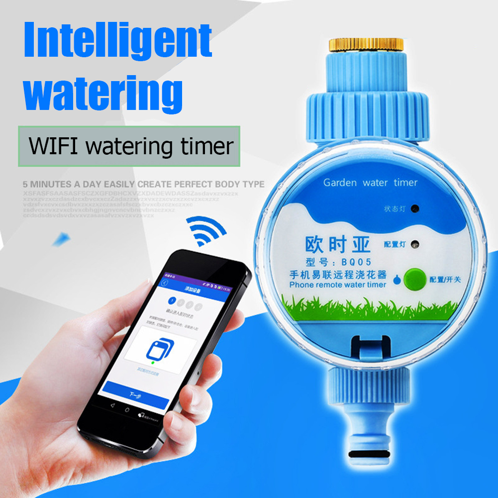 App Smart Indoor/Outdoor Elektronische Digital Lcd Elektronische Bewässerung Timer Wifi Sprinkler System Controller Wasser Timer
