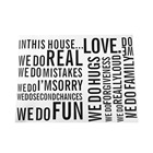 60X80cm Wall Quote L...