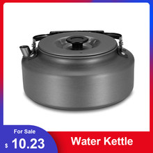 Portable Water Kettle Water Pot Teapot Coffee Pot Indoor Whistling Aluminum Alloy Tea Kettle Outdoor Camping Hiking Picnic