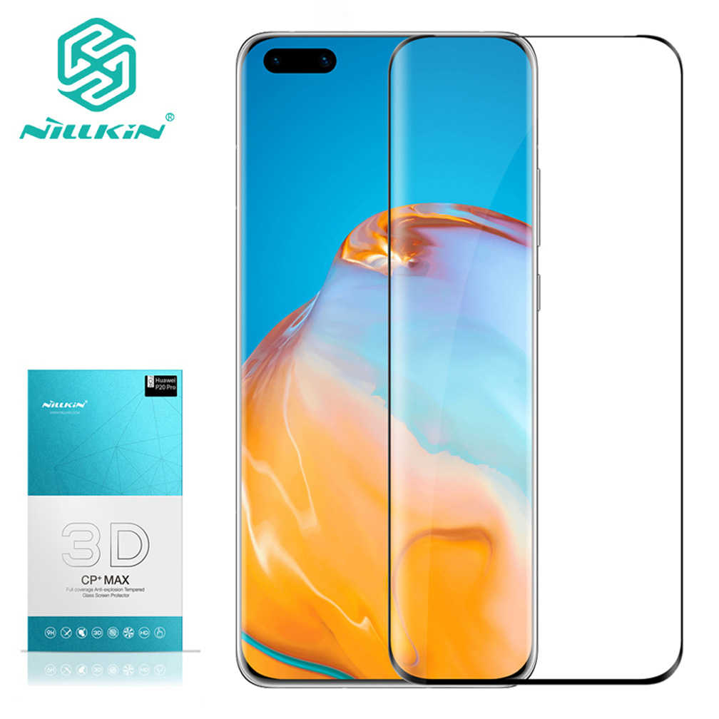Huawei P40 Pro Glass NILLKIN Amazing 3D CP+ MAX Full Coverage 9H Tempered Glass Screen Protector For Huawei P40 pro